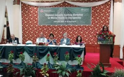 Saima stresses disaster-time mental health
