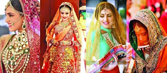 How to wear Dupatta in different styles at weddings