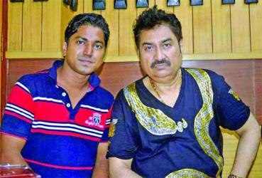 Kumar Shanu in Muhin\'s composition for first time