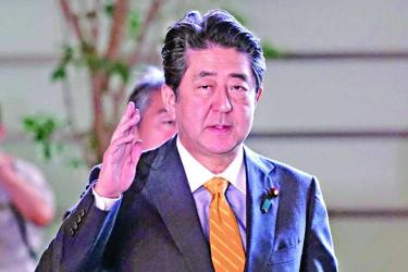 Abe poised for three more years as Japanese PM