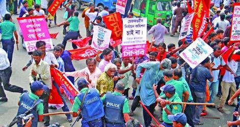 Police foil leftist bid to besiege EC