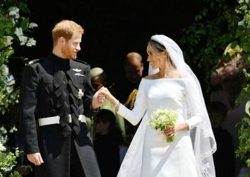 Meghan reveals \'something blue\' she wore at royal wedding
