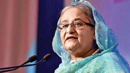 PM seeks strong political resolve for secure cyberspace