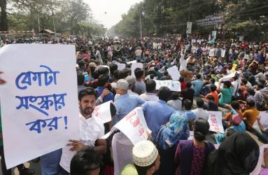 'BCL men' attack quota reformists at DU