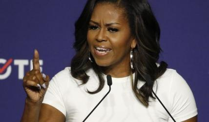 Michelle Obama rips Trump in new book