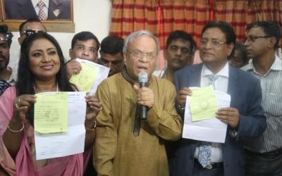 Baby Naznin, Helal Khan seek BNP nominations