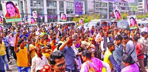 Traffic nightmare in Dhaka