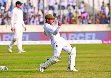 Mushfiqur devours historic double ton