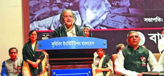 \'Silence!\' won\'t silence people---Hasina to Kamal