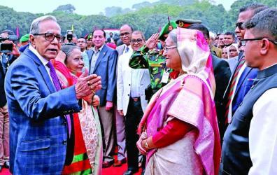 President hosts Victory Day reception at Bangabhaban