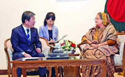 Japan to continue support to BD\'s dev