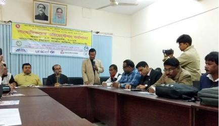 Workshop on Vitamin \'A\' plus Campaign held in Nilphamari