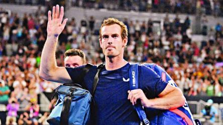 Gutsy Murray out of career's last Australian Open