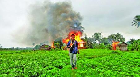 Rakhine plunges back into chaos