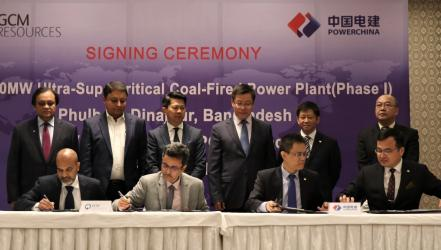 Contracts signed for 2,000 MW coal-fired plant