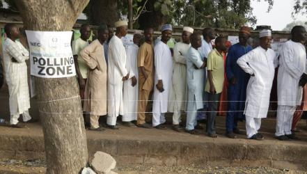 Nigeria\'s leader already claiming election win