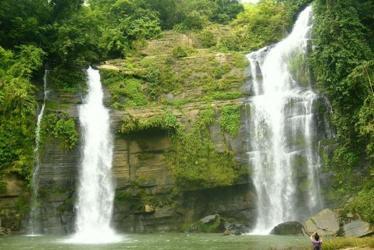 Amazing waterfall in Bandarban