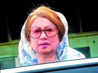 Khaleda not produced before court for illness