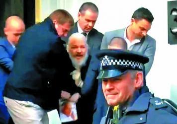 Julian Assange agrees to remain at maximum security Belmarsh jail
