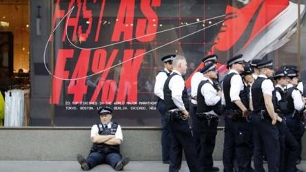 London police for additional help in climate protests