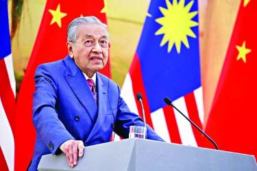 Malaysia revives massive China-backed project