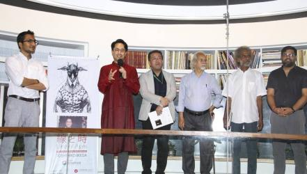 Group art exhibition 'Lines of Ages' held at Cosmos Atelier 71