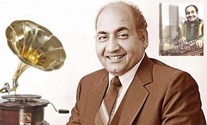 The songs of Mohammad Rafi
