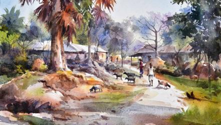 Solo painting exhibition by Suman Kumar Sarkar begins Friday