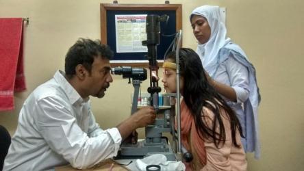 Eye surgery begins for Cox's Bazar children