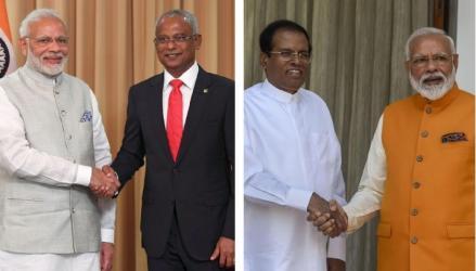 Modi's visits to Maldives and Sri Lanka