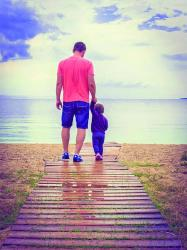 Father's Day is celebrated in honor of fathers