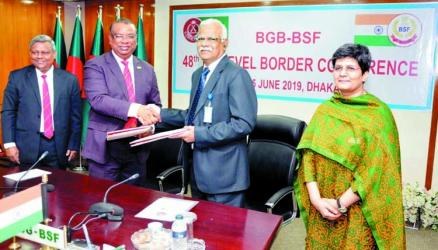 BGB, BSF agree to end border killing