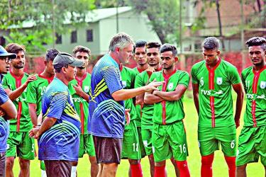 Booters ready to take India's challenge