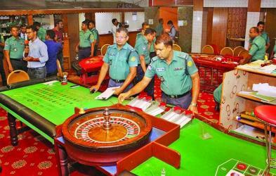 Police raid 4 sports clubs