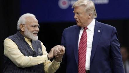Trump visits 2 key states with leaders of India, Australia