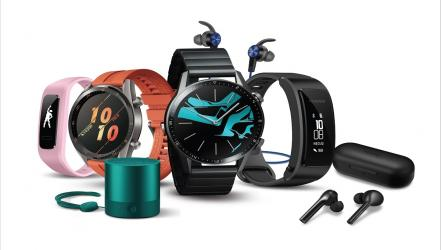 Huawei flourishes in selling smart accessories
