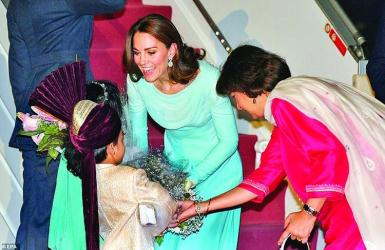Kate, Wills in Pakistan as first royals after 13 years
