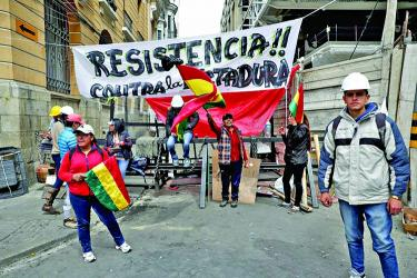 UN chief urges restraint for Bolivians
