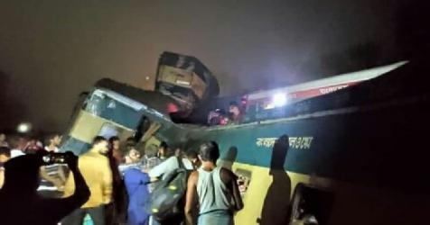 B'baria train collision: Turnanishita loco master, 2 others suspended