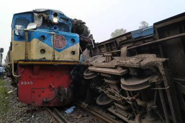 Case started over B'baria train crash