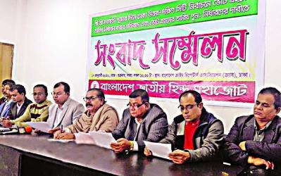 Hindu Mohajote threatens to boycott city polls
