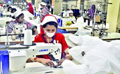 Anxiety among garment workers