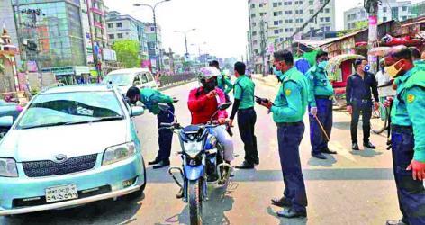Over 4,500 policemen infected in Bangladesh