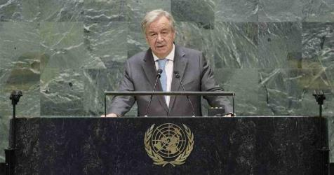 Work together to improve world governance: UN chief