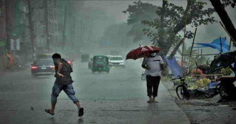 Met office forecasts light to moderate rain