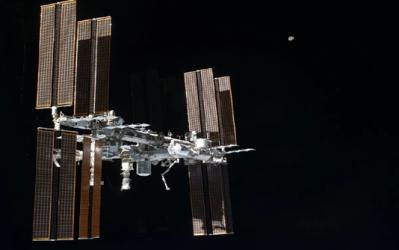 ISS moves to avoid space debris