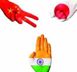 Japan, China and India- the emerging trilateral equation