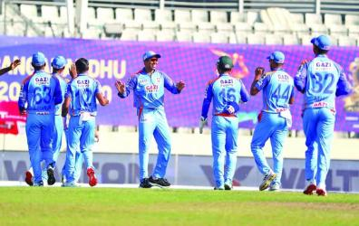 Chattogram makes it 3 in 3 after beating Barishal