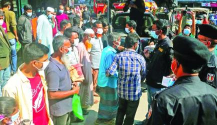 Corona cases surge in Bangladesh