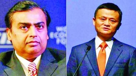 Mukesh Ambani dethrones Jack Ma